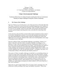 China's Environmental Challenge - U.S.-China Economic and ...