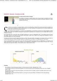 Evaluations de CM2. Le niveau reste très bas en ... - Comores-online