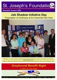 1Summer Newsletter 08:Spring Newsletter 2008.qxd - St Joseph's ...