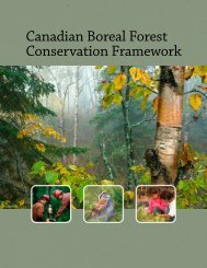 Full Framework Document - Initiative boréale canadienne