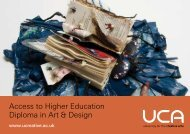 Access to Higher Education Diploma in Art & Design - University for ...