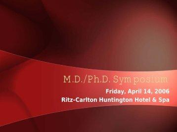 MDPhD Symposium Pict..