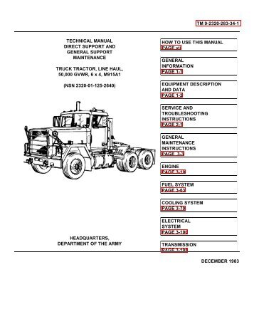 TM 9-2320-283-24P TECHNICAL MANUAL UNIT MAINTENANCE