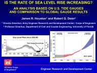 Is the Rate of Sea Level Rise Increasing? An Analysis based ... - fsbpa