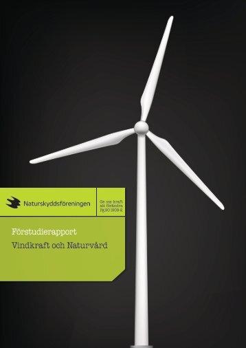 Förstudierapport Vindkraft och Naturvård