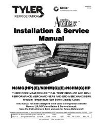 Installation & Service Manual - Hill Phoenix