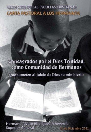 Consagrados por el Dios Trinidad, como comunidad ... - La Salle.org