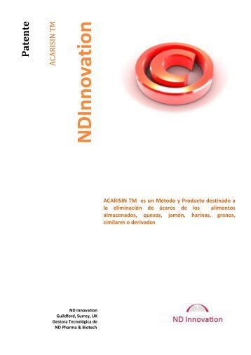 NDInnovation - QuimiNet.com