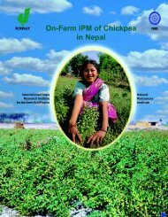 On-Farm IPM of Chickpea in Nepal - Icrisat