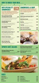 01126_Sports Cafe Menu 2012 AW v3.indd - Center Parcs - Page 2