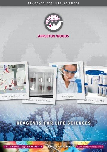 REAGENTS FOR LIFE SCIENCES - Appleton Woods Ltd