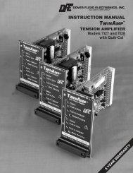 Instruction Manual (pdf) - Dover Flexo Electronics, Inc