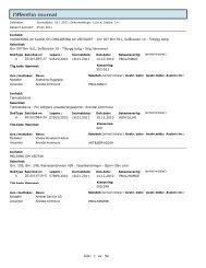 Offentlig journal - Arendal kommune