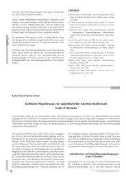 kollektive Regulierung von subjektivierten Arbeitsverhältnissen in ...
