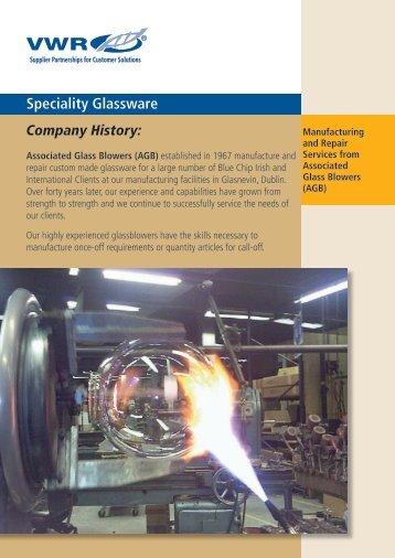 Speciality Glassware