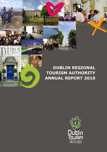 dublin regional tourism authority annual report 2010 - Visit Dublin