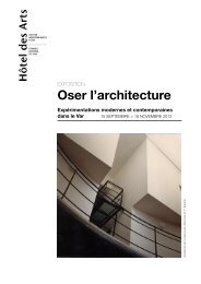 Oser l'architecture - Observatoire