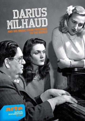 FLYER DARIUS MILHAUD