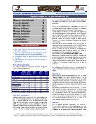 Economía y Mercados Financie Reporte ... - Sala de Inversión