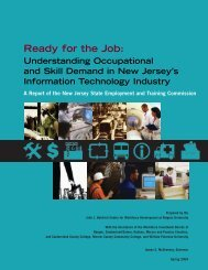 Health Care Report - New Jersey Next Stop