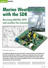 Marine Weather Data With The SDR Receiving NAVTEX