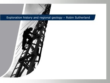 Exploration history and regional geology – Robin ... - Tullow Oil plc