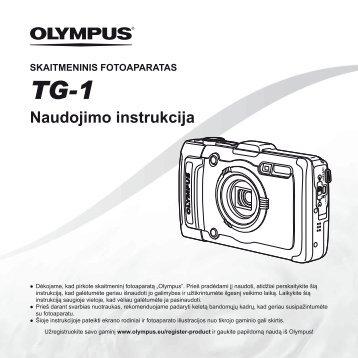 Naudojimo instrukcija TG-1