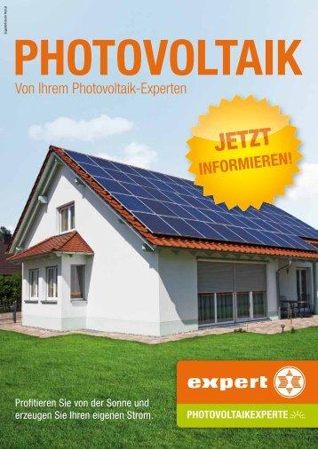 Von Ihrem Photovoltaik-Experten - Expert Ziegelwanger