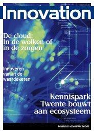 Kennispark Twente bouwt aan ecosysteem De cloud