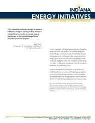 Universities - Indiana Economic Development Corporation