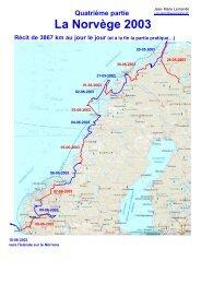 La Norvège 2003 - Camping Car en Liberté