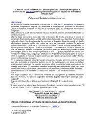 LEGE nr. 15 din 11 martie 2011 privind aprobarea Ordonanţei de ...