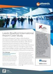 Phoenix Software Case Study - Leeds Bradford International Airport ...
