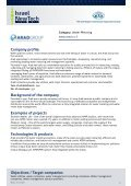 Israeli water companies catalogue for Control & Communication - Page 4
