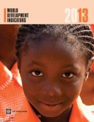 World Development Indicators 2013 - Open Knowledge Repository ...