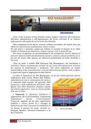 PRESENTAZIONE progetto risk management 2 _1_ - Istat.it