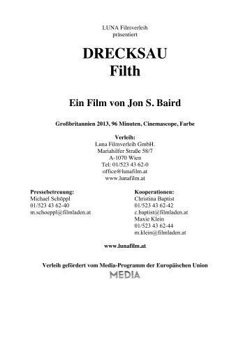 DRECKSAU Filth Ein Film von Jon S. Baird - Luna Filmverleih
