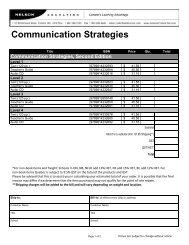 Communication Strategies, Second Edition