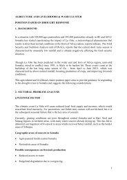 Position Paper on Drought Response - OCHANet