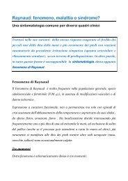 Raynaud: fenomeno, malattia o sindrome? Una ... - docvadis