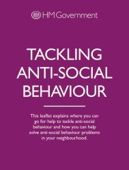 TACKLING ANTI-SOCIAL BEHAVIOUR - Devon & Cornwall Police