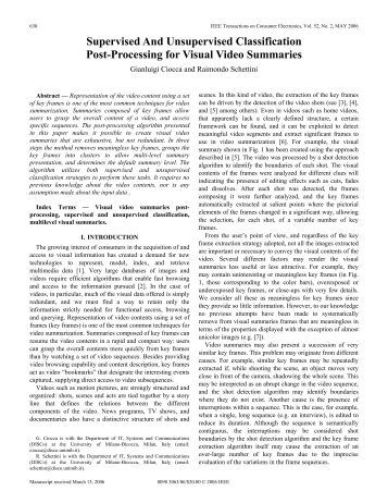 Supervised And Unsupervised Classification Post ... - IEEE Xplore