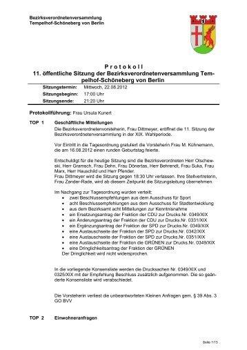Protokoll (pdf/ca. 130 KB) - Ein Bezirk für Alle
