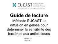 Guide de lecture - eucast