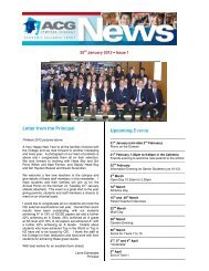 Letter from the Principal Upcoming Events - The Academic Colleges ...