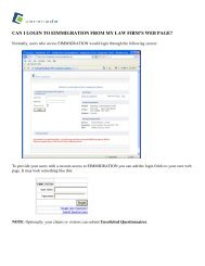 can i login to eimmigration from my law firm's web page? - Cerenade