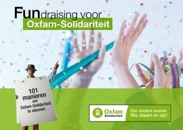 Fundraising voor - Oxfam-Solidariteit