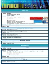2012 Agenda - Conference Planning and Management - Iowa State ...