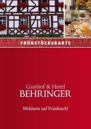als PDF downloaden - Hotel Restaurant Behringer