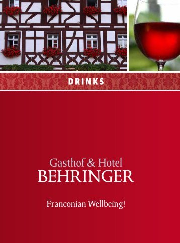download as PDF - Hotel Restaurant Behringer